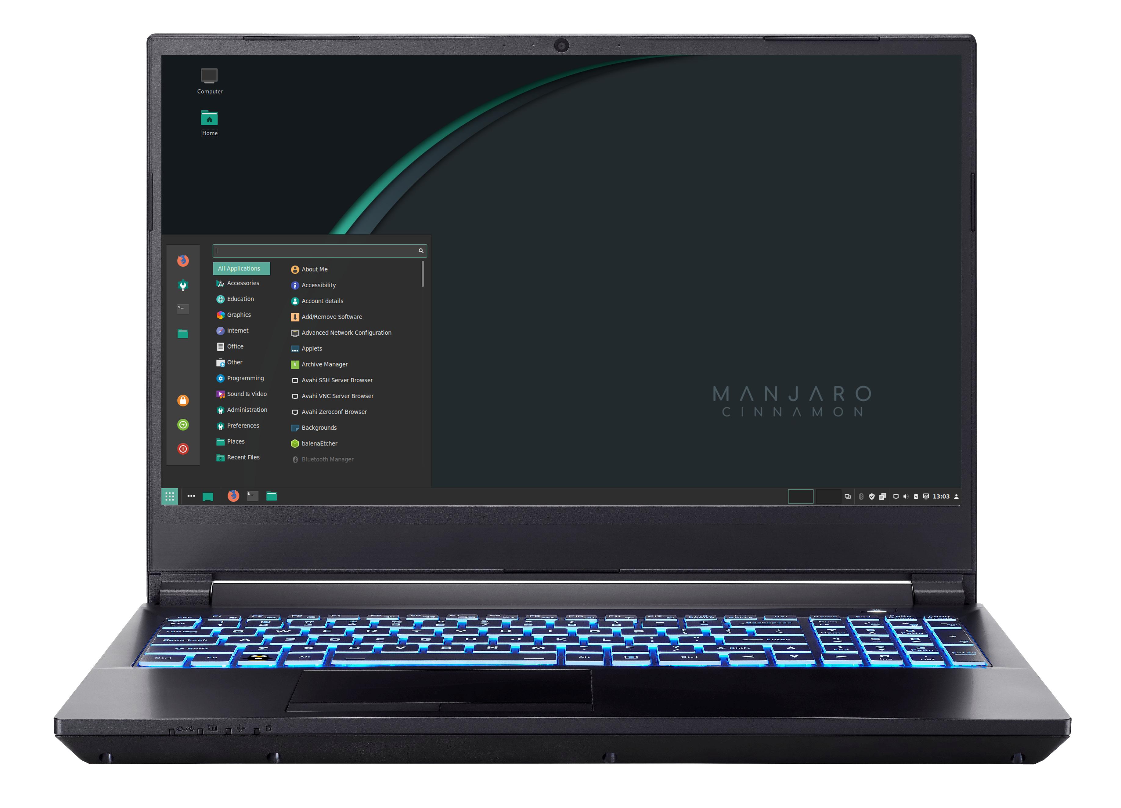 ManjaroBook AMD Ryzen + nvidia